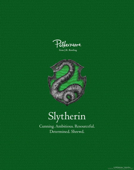 slytherin pottermore pic