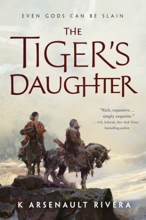 The Tiger's Daughter cover