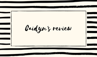 Caidyn's review (1)